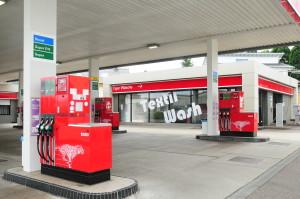 Esso-Station Waschanlage
