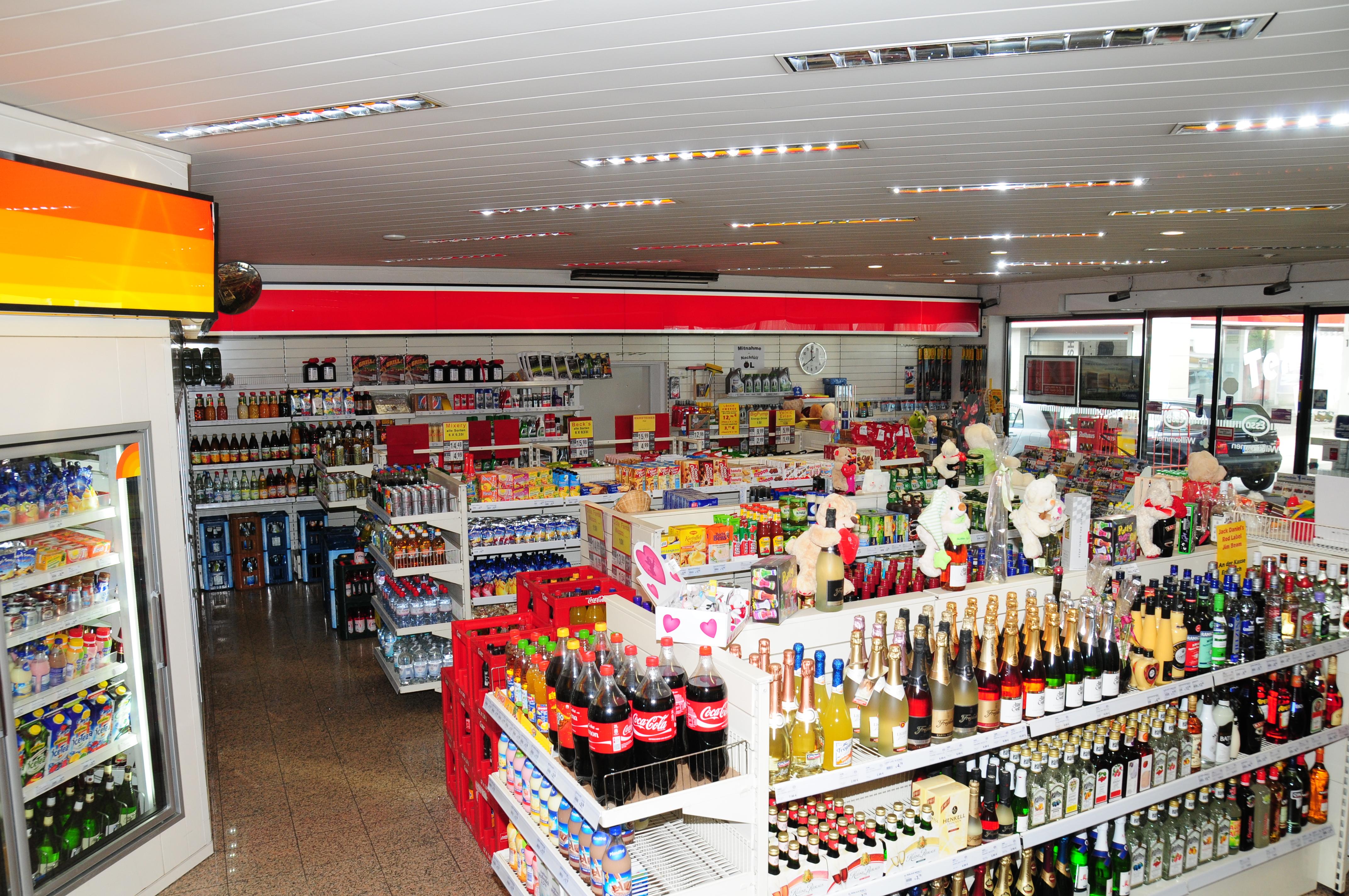 Shop esso station achern for Shop einrichtung